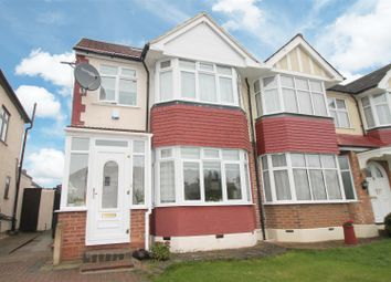 Thumbnail 4 bed semi-detached house for sale in The Fairway, Palmers Green, London