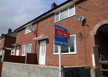 Thumbnail 2 bed terraced house to rent in 11, Bron Y Buckley, Welshpool, Powys