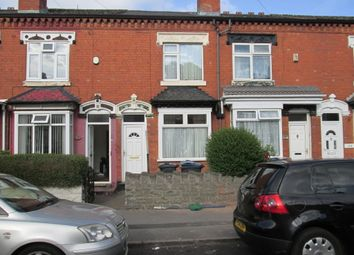 Thumbnail 2 bed terraced house to rent in Knowle Road, Sparkhill, Birmingham