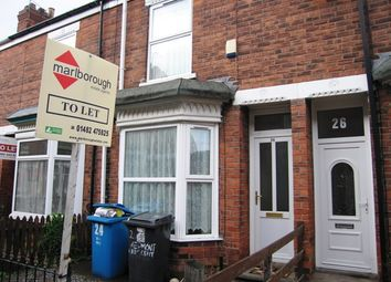 Thumbnail 2 bed terraced house to rent in Vermont Crescent, Worthing Street, Hull