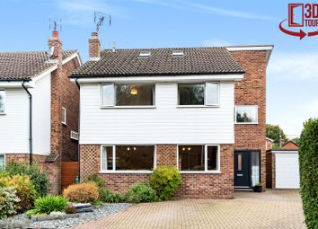 Thumbnail 4 bed detached house for sale in Parsons Field, Sandhurst, Berkshire