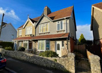 Thumbnail 3 bed semi-detached house for sale in Victoria Avenue, Swanage