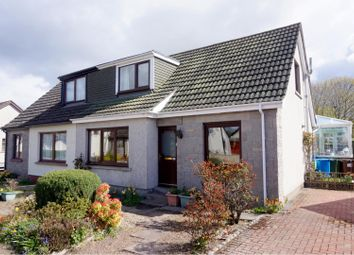 Thumbnail 4 bed semi-detached house for sale in Ordview Road, Nairn