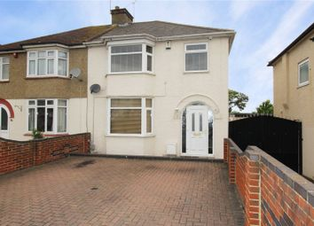 Thumbnail 3 bed semi-detached house for sale in Colyer Road, Northfleet, Gravesend, Kent