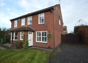 Thumbnail 3 bed semi-detached house to rent in Juniper Close, Leicester Forest East, Leicester