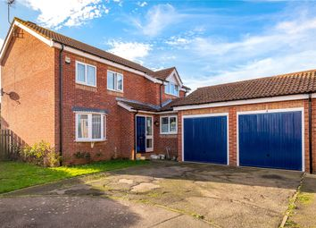 Thumbnail 4 bed detached house for sale in Hereford Close, Sleaford, Lincolnshire