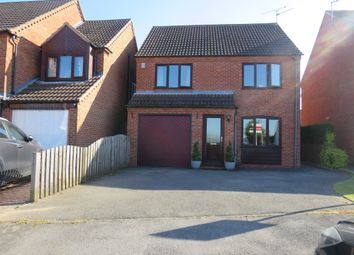 Thumbnail 4 bed detached house for sale in Lingfield Close, Mansfield