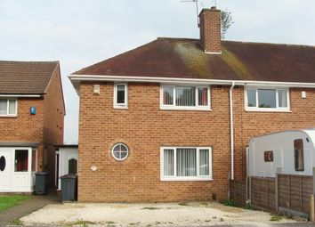 Thumbnail 2 bed semi-detached house for sale in Irwin Avenue, Rednal