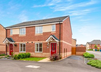 Thumbnail 3 bed semi-detached house for sale in Newbold Drive, Marston Grange, Stafford