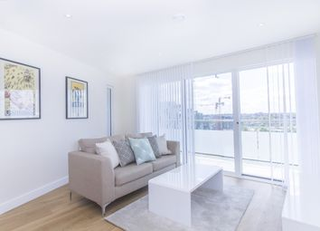 Thumbnail 2 bed flat to rent in Swiftstone Tower, Peartree Way, Greenwich