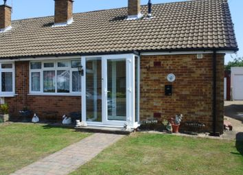 Thumbnail 2 bed semi-detached bungalow to rent in Montfort Road, Chatham, Kent