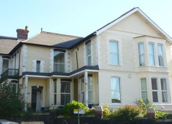 Thumbnail 4 bed flat to rent in Mannamead Road, Mutley, Plymouth