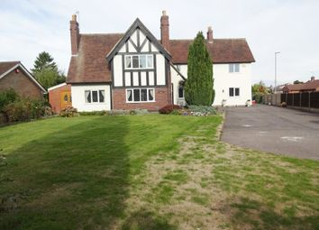 Thumbnail 5 bed detached house for sale in Meadow Lane, Coalville, Leicestershire