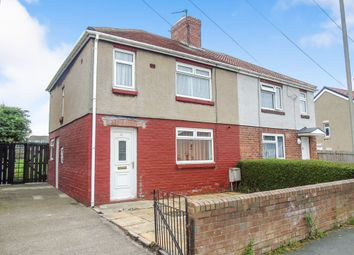 Thumbnail 3 bed semi-detached house to rent in Burnside, Bedlington