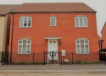 Thumbnail 4 bed detached house for sale in Lysaght Gardens, Newport