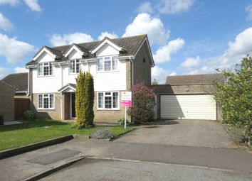 Thumbnail 4 bed detached house for sale in Watling Road, Attleborough
