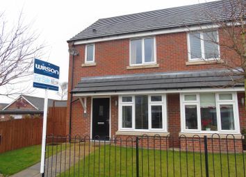Thumbnail 2 bedroom semi-detached house for sale in Quarry Road, Bolsover, Chesterfield