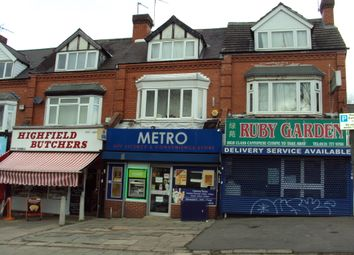 Thumbnail Retail premises for sale in Highfield Road, Hall Green, Birmingham