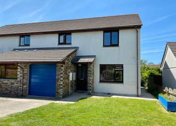 Thumbnail 3 bed semi-detached house for sale in Gardeners Way, St Issey