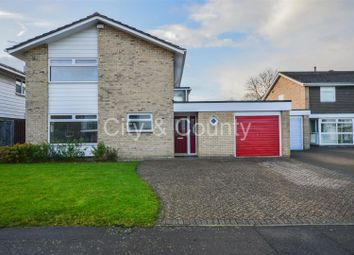 Thumbnail 4 bed detached house for sale in Apsley Way, Longthorpe, Peterborough