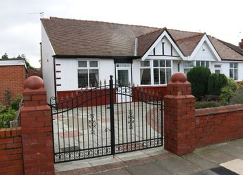 Thumbnail 2 bed semi-detached bungalow for sale in Cleveleys Road, Southport