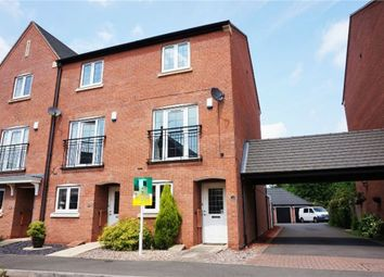 Thumbnail 3 bed end terrace house for sale in Vale Close, Loughborough, Leicestershire