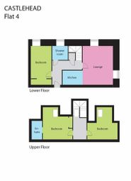 Thumbnail 3 bed flat for sale in Main Road, Castlehead, Paisley
