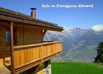 Thumbnail 3 bed chalet for sale in Les Collons, Les Collons, District D'hérens, Valais, Switzerland