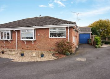 Thumbnail 2 bed semi-detached bungalow for sale in Bishopthorpe Road, Cleethorpes