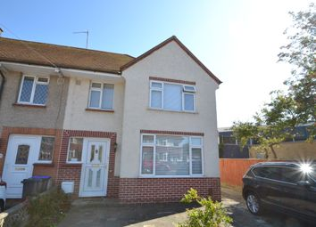 Thumbnail 3 bed end terrace house to rent in King Edward Avenue, Worthing