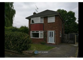 Thumbnail 3 bed detached house to rent in Blunden Road, Farnborough