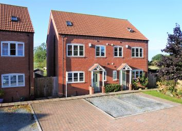 Thumbnail 3 bed semi-detached house for sale in Moreton Close, Great Gonerby, Grantham