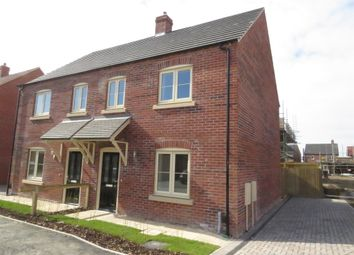 Thumbnail 3 bedroom semi-detached house for sale in Hawthorne Close, Saxilby, Lincoln