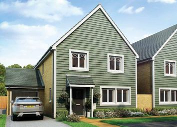 Thumbnail 4 bed link-detached house for sale in Nugent Close, Church Crookham, Fleet