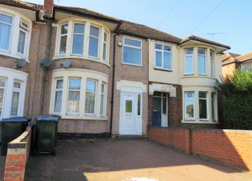 Thumbnail 3 bed terraced house to rent in Cheveral Avenue, Radford, Coventry