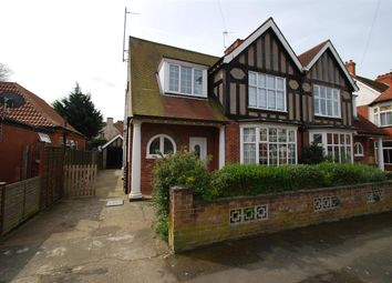 Thumbnail 4 bed semi-detached house for sale in Derby Avenue, Skegness