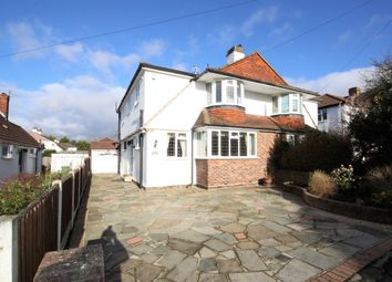 Thumbnail 4 bed semi-detached house for sale in Greenwood Close, Petts Wood, Orpington