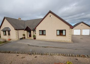 Thumbnail 4 bed detached bungalow for sale in Wardend, Birnie, Elgin