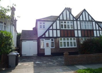 Thumbnail 4 bed semi-detached house to rent in Sedgecombe Avenue, Kenton
