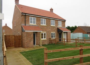 Thumbnail 2 bed semi-detached house for sale in Magdalen Road, Tilney St. Lawrence, King's Lynn