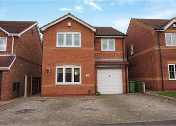 Thumbnail 4 bed detached house for sale in Primrose Way, Cleethorpes