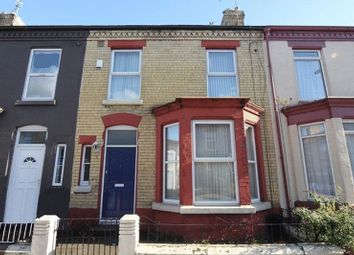 Thumbnail 4 bed terraced house for sale in Gainsborough Road, Wavertree, Liverpool