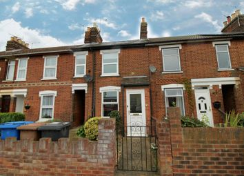 Thumbnail 2 bed terraced house to rent in Rosehill Road, Ipswich