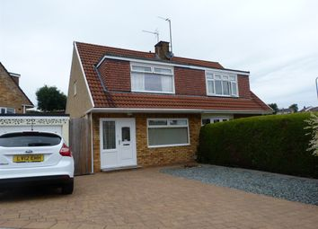 Thumbnail 3 bed semi-detached house for sale in Larch Grove, Newport