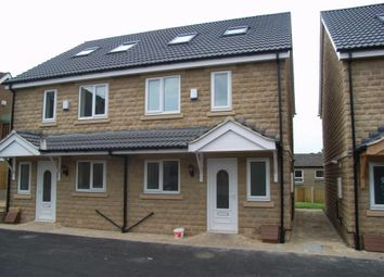 Thumbnail 3 bed semi-detached house to rent in Briar Court, Heckmondwike, West Yorkshire