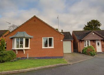 Thumbnail 2 bed detached bungalow for sale in Kirkby Road, Barwell, Leicester