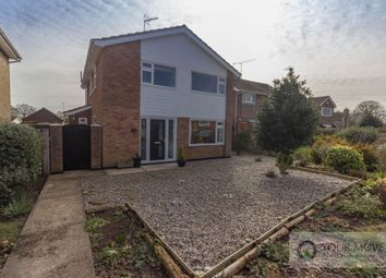 Thumbnail 4 bed detached house for sale in St. Peters Road, Carlton Colville, Lowestoft