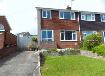 Thumbnail 3 bed semi-detached house for sale in Parkdale View, Llantrisant, Pontyclun