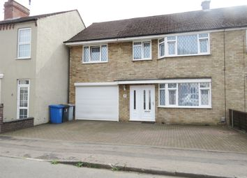 Thumbnail 5 bed semi-detached house for sale in Nichols Street, Desborough, Kettering