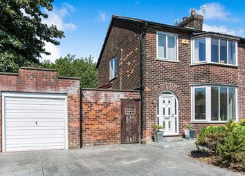 Thumbnail 3 bed semi-detached house for sale in South Grove, Worsley, Manchester